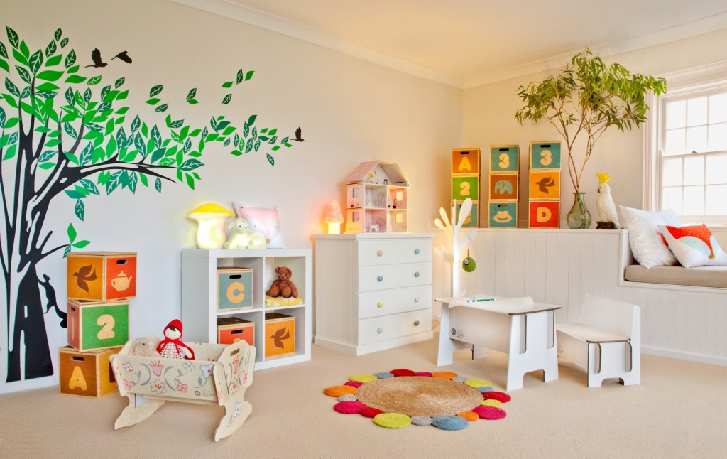 Green Lullaby room