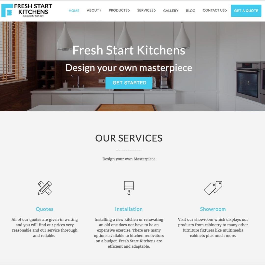 Web design, new web build, new website