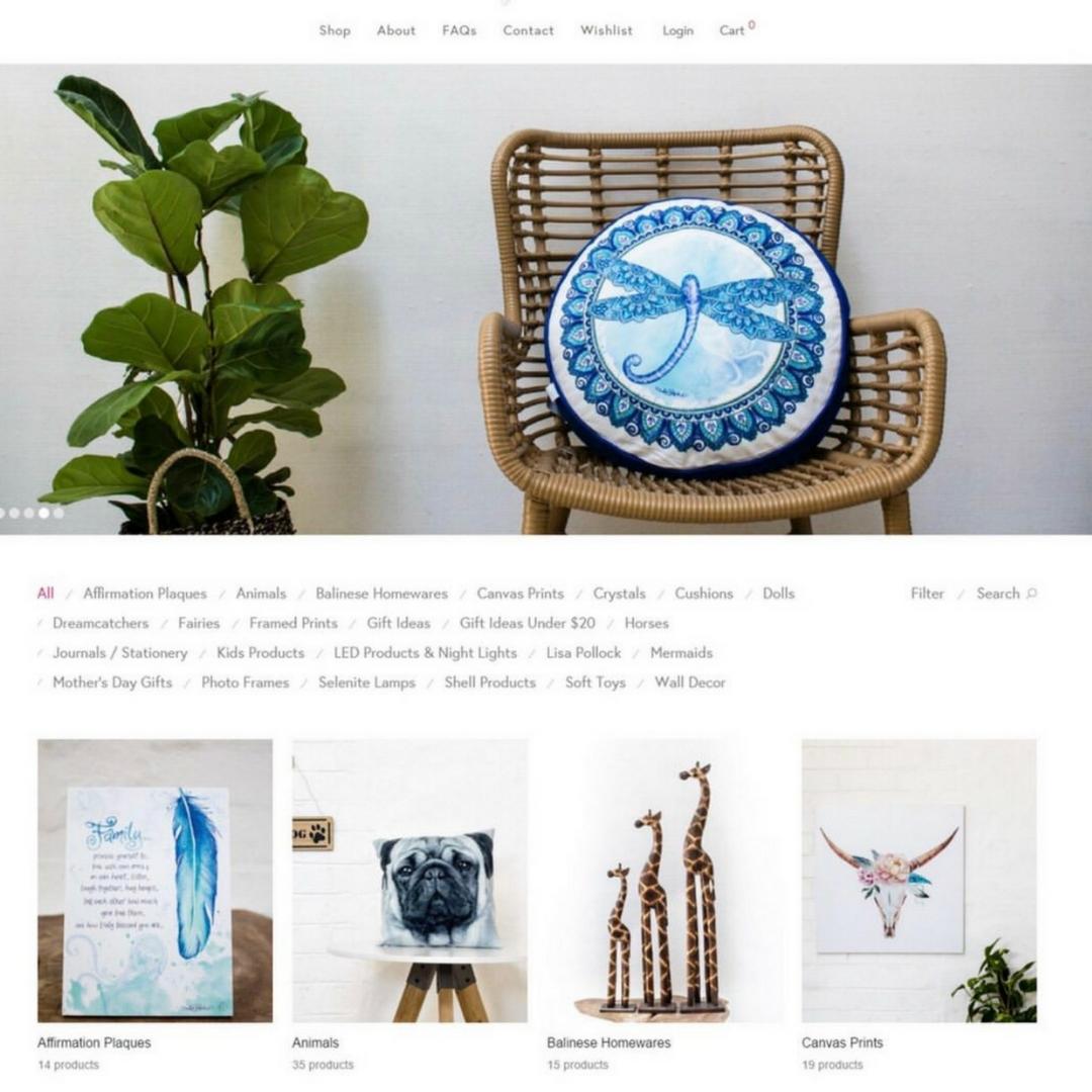 New website, web design