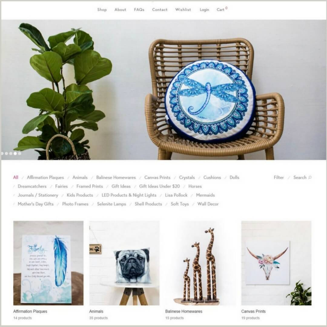 New e-commerce site, website revamp