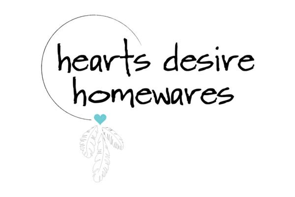Hearts Desire Homewares logo design