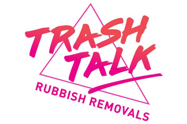 Trash Talk logo design