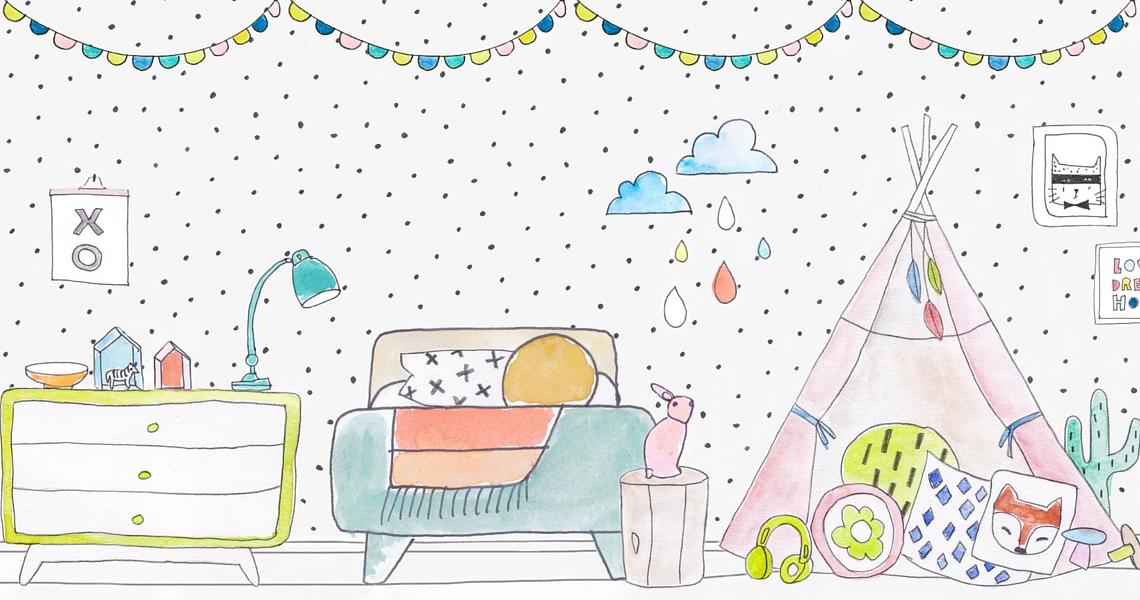 Custom illustration, TUBU Kids © TUBU Collective